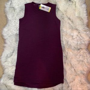 32Cool Dresses - NWT Women's 32Cool Burgandy Space Dye Dress